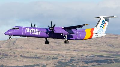 A picture of GKKEV - De Havilland Canada Dash 8400 - Flybe - © Kyle McKinlay