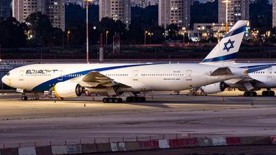 A picture of 4XECC - Boeing 777258(ER) - El Al - © Richi_Aviations