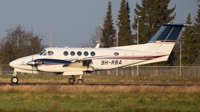 9H-RBA - Beechcraft B200GT Super King Air - Tyrolean Jet Services