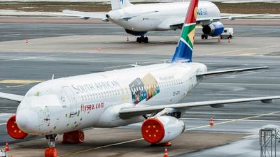 EI-GTO - Airbus A320-232 - South African Airways