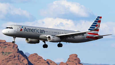 A picture of N158AN - Airbus A321231 - American Airlines - © Zihaoo W & Donny H Photography