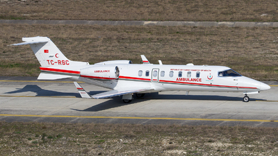 TC-RSC - Bombardier Learjet 45 - Turkey - Ministry of Health