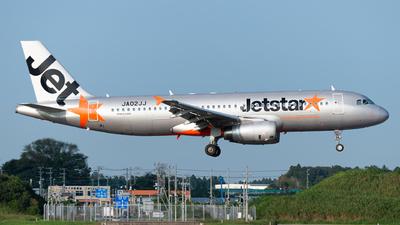 JA02JJ - Airbus A320-232 - Jetstar Japan Airlines