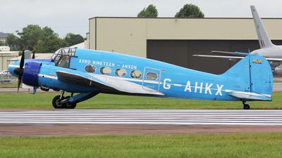 G-AHKX - Avro Anson C.19 - BAe Systems