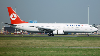 TC-JFO - Boeing 737-8F2 - Turkish Airlines