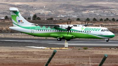 EC-JEV - ATR 72-212A(500) - Binter Canarias