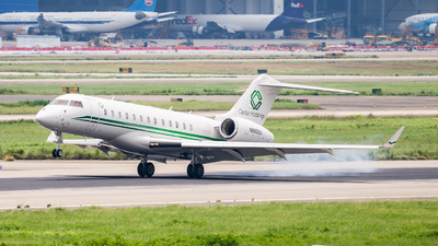 N968BX - Bombardier BD-700-1A10 Global 6000 - Private
