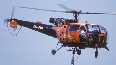 EC-FQI - Aérospatiale SA 316B Alouette III - Helisureste