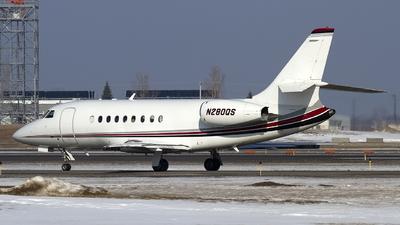 N280QS - Dassault Falcon 2000 - NetJets Aviation