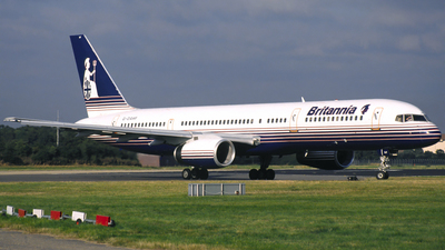 G-OAHF - Boeing 757-27B - Britannia Airways