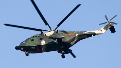 6304 - Changhe Z-8KH - China - Air Force