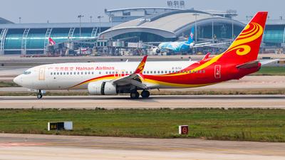 B-5713 - Boeing 737-84P - Hainan Airlines