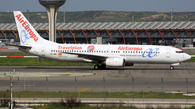 EC-HBL - Boeing 737-85P - Air Europa