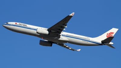 A picture of B5947 - Airbus A330343 - Air China - © M.T