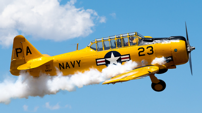 N2023 - North American SNJ-5 Texan - Private