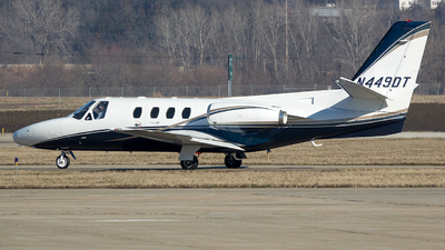 N449DT - Cessna 501 Citation SP Eagle II - Private