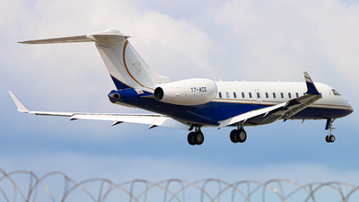 T7-ACE - Bombardier BD-700-1A11 Global 5000 - Private