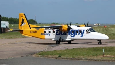 A picture of GOAUR - Dornier 228212 - Aurigny Air Services - © David Cook