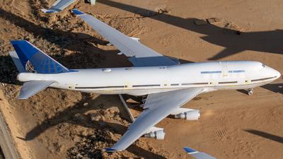 N104UA - Boeing 747-422 - Untitled