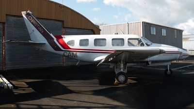 ZK-CAM - Piper PA-31-310 Navajo - Christian Aviation