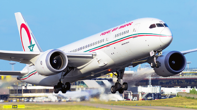 A picture of CNRGS - Boeing 7878 Dreamliner - Royal Air Maroc - © guillaume fevrier