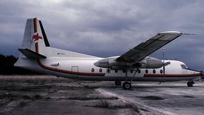 N1036S - Fokker F27-200 Friendship - Air Niugini