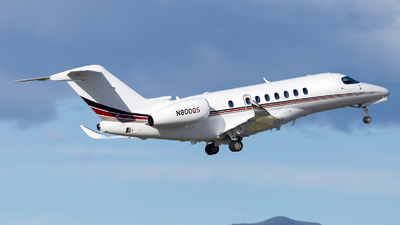 A picture of N800QS - Cessna 700 Citation Longitude - NetJets - © HA-KLS