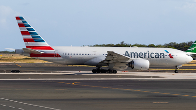 A picture of N774AN - Boeing 777223(ER) - American Airlines - © Alex Crail