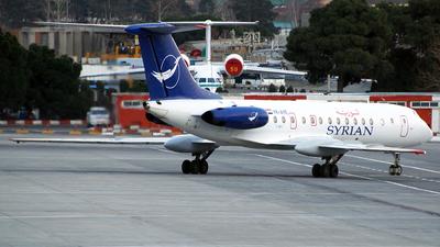 YK-AYE - Tupolev Tu-134B-3 - Syrianair - Syrian Arab Airlines