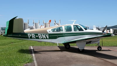 PR-BNV - Beechcraft V35B Bonanza - Private