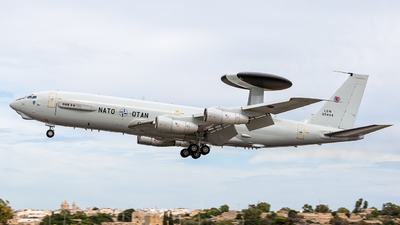 LX-N90444 - Boeing E-3A Sentry - NATO - Airborne Early Warning Force