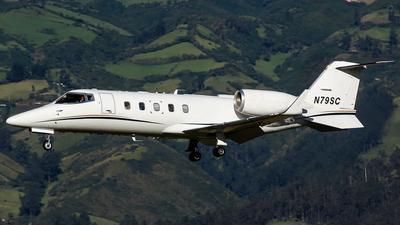 N79SC - Bombardier Learjet 60 - Private