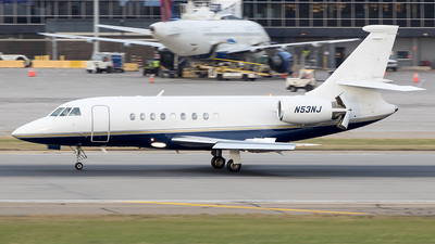 N53NJ - Dassault Falcon 2000 - Private