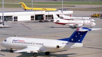 VH-EWD - Fokker F28-4000 Fellowship - Ansett Express