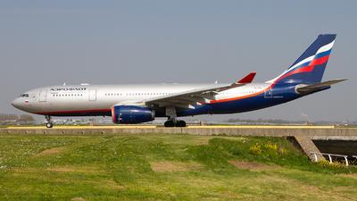VQ-BBG - Airbus A330-243 - Aeroflot