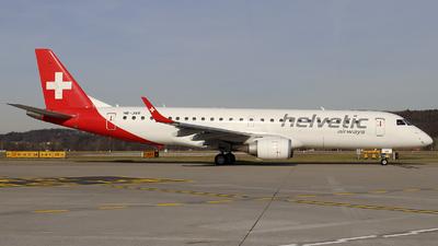 HB-JVR - Embraer 190-100LR - Helvetic Airways