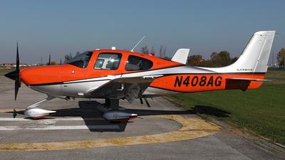 N408AG - Cirrus SR22T Carbon - Private