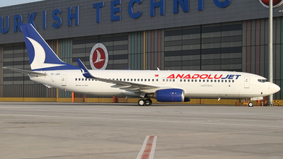 TC-JZU - Boeing 737-8AS - AnadoluJet