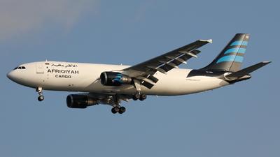 5A-ONS - Airbus A300B4-622R(F) - Afriqiyah Cargo