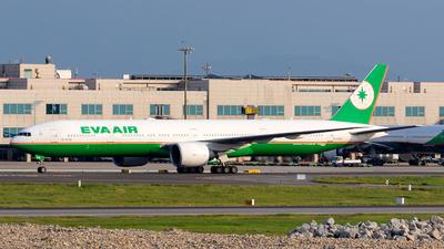 B-16708 - Boeing 777-35EER - Eva Air
