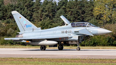 98-03 - Eurofighter Typhoon EF2000(T) - Germany - Air Force