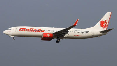 9M-LNF - Boeing 737-9GPER - Malindo Air