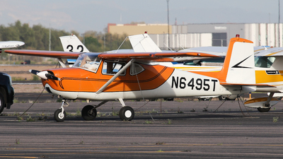 A picture of N6495T - Cessna 150 - [17895] - © BaszB