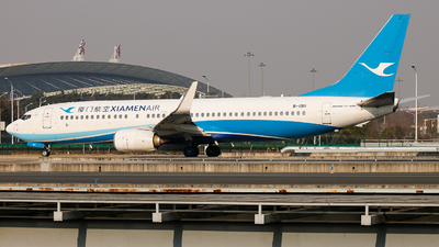 A picture of B1911 - Boeing 73785C - Xiamen Air - © C·Dragon