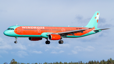 UR-WRH - Airbus A321-231 - Wind Rose Aviation