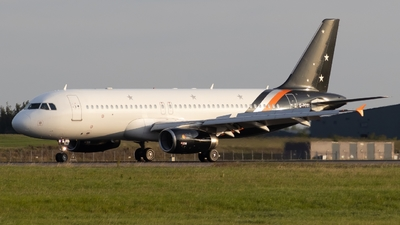 G-POWK - Airbus A320-233 - Titan Airways