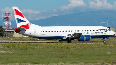 G-DOCY - Boeing 737-436 - British Airways