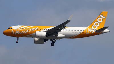 9V-TNB - Airbus A320-271N - Scoot