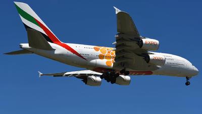 A6-EOU - Airbus A380-861 - Emirates