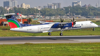 S2-AGV - Bombardier Dash 8-Q402 - US-Bangla Airlines
